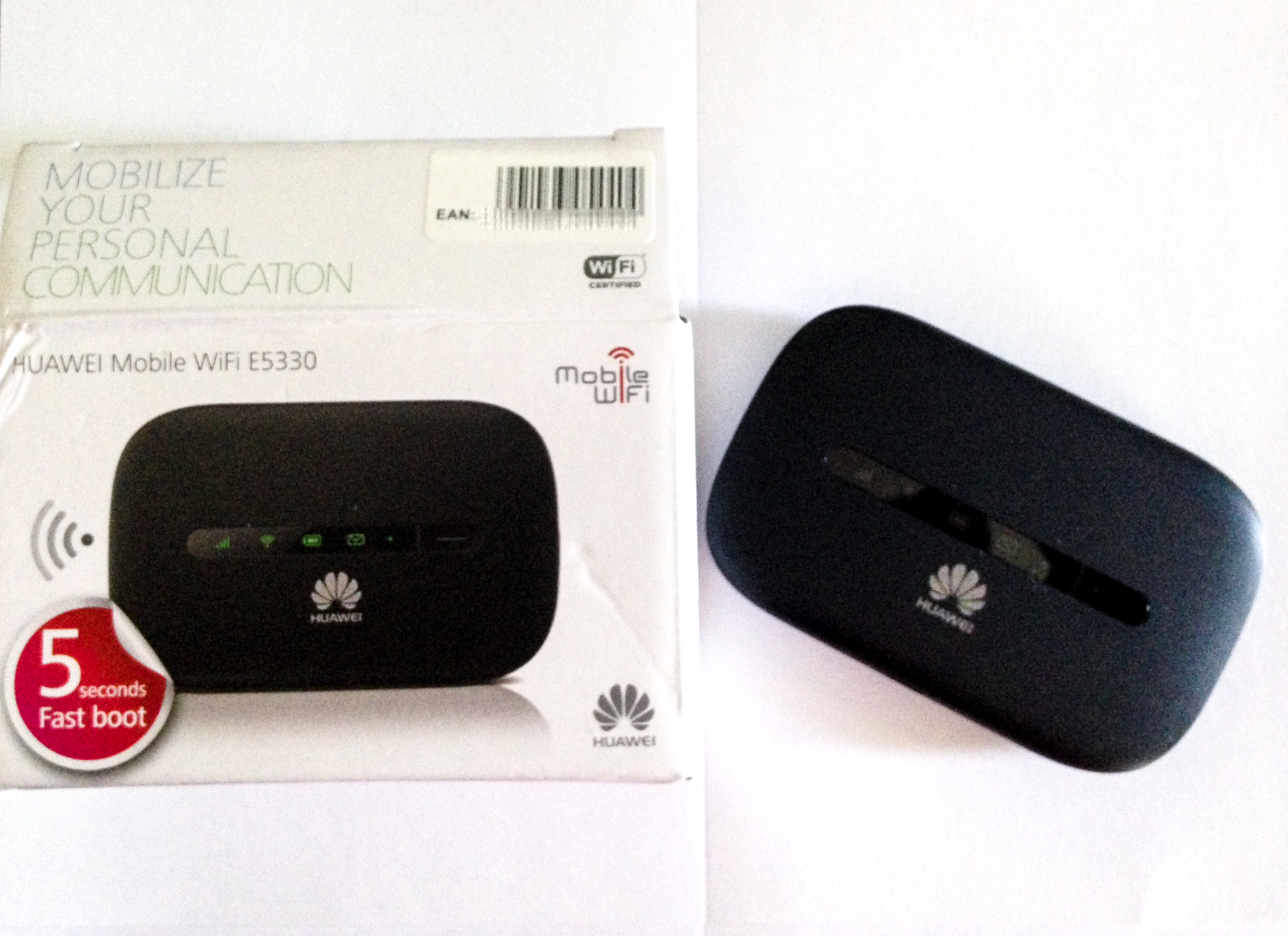 a WIFI device for travel