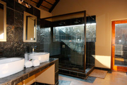Sabi Sands Lodge inside and outside shower